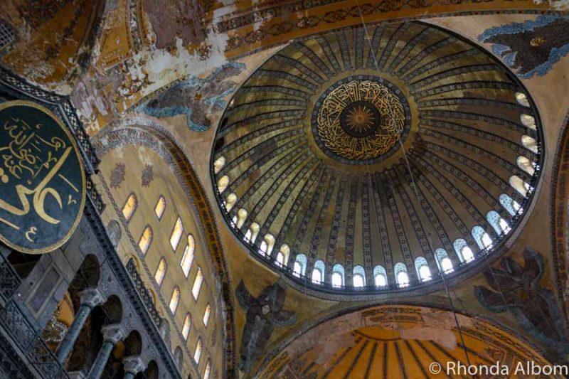 Dome in Hagia Sophia