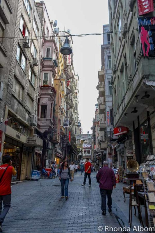 Shopping on the European side of Istanbul