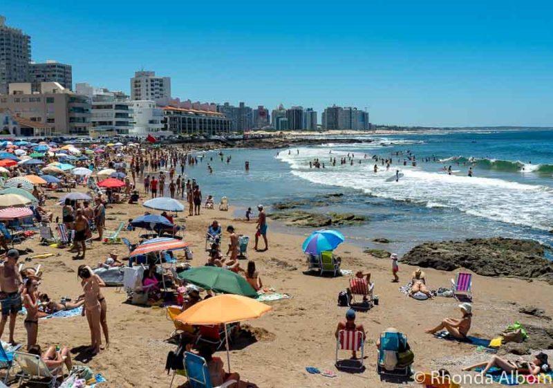 South America itinerary stop at Punte del Este