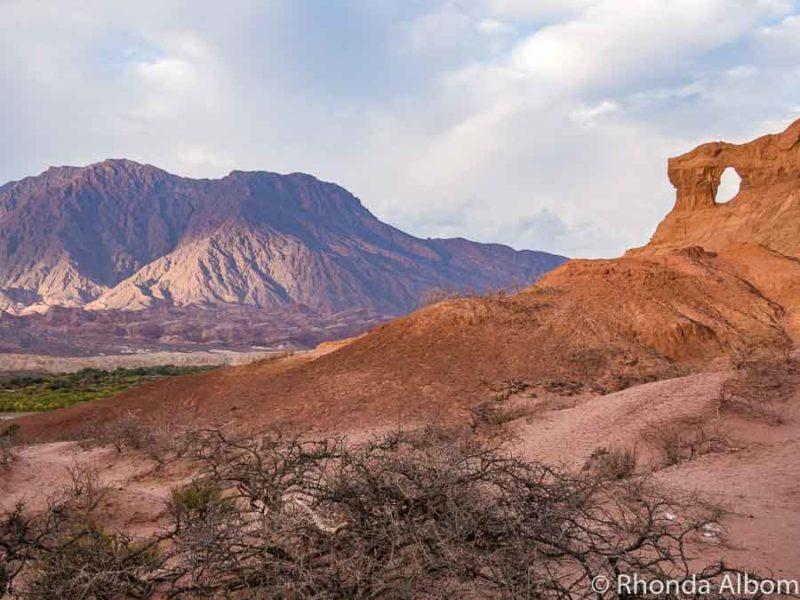La Vantanas in Quebrada de las Conchas Argentina