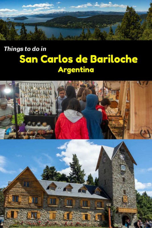 Hiking, cruising, enjoying spectacular views and eating chocolate are among the best things to do in Bariloche Argentina