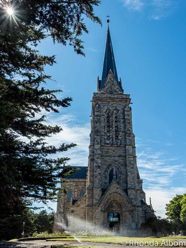 Reaching up to God, this is the Cathedral of San Carlos de Bariloche in Argentina