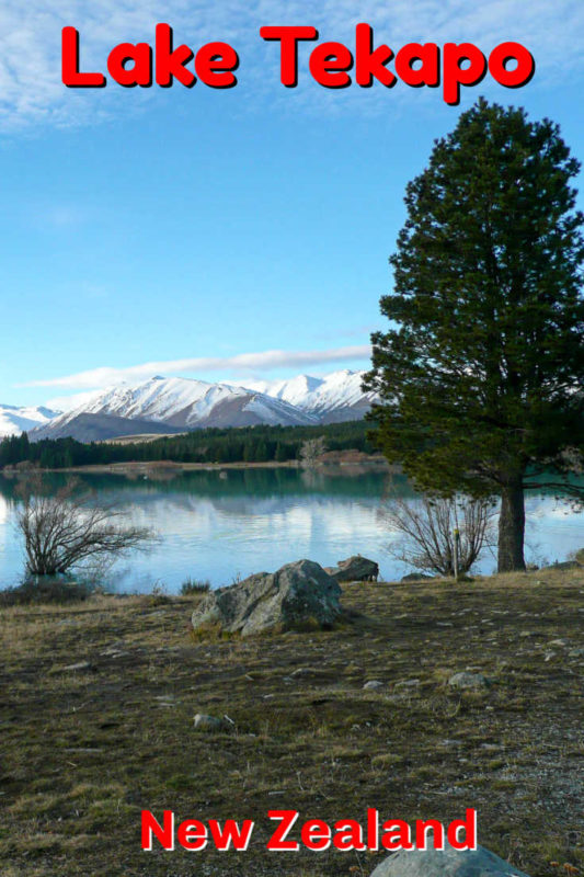 Lake Tekapo is one of the most scenic spots in New Zealand