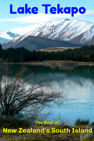 Lake Tekapo South Island New Zealand