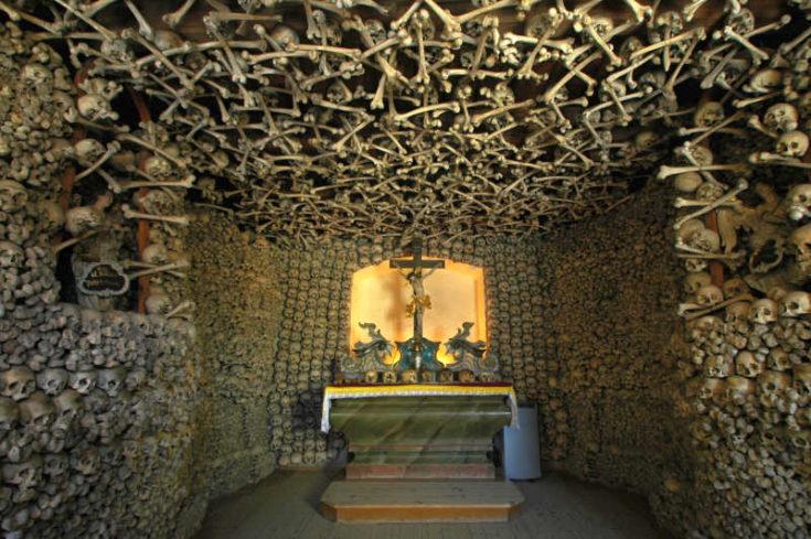 Skull Chapel,Czermna, Poland