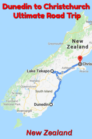 Highlight of a New Zealand South Island Road Trip from Dunedin to Christchurch