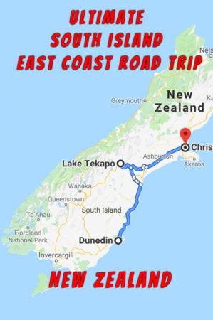Ultimate New Zealand South Island Road Trip from Dunedin to Christchurch