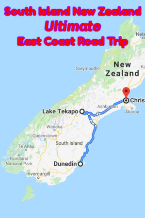 A New Zealand South Island Road Trip from Dunedin to Christchurch