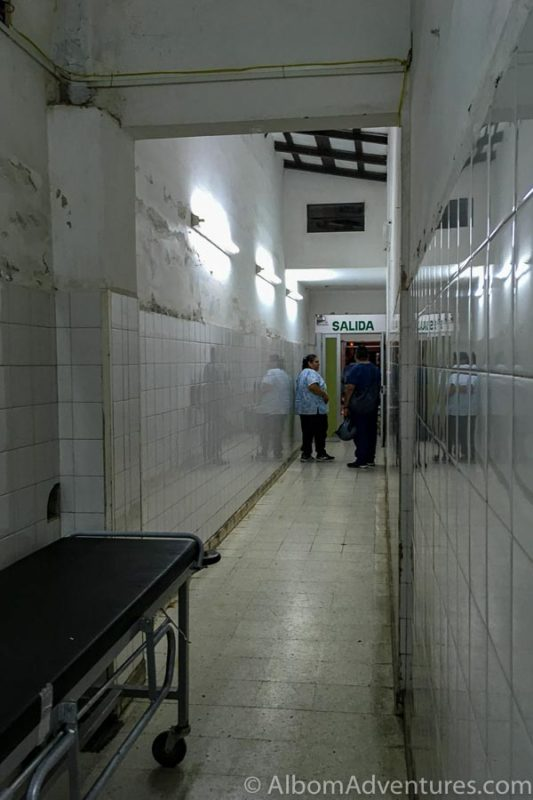 Exit of Sr Hospital del Milagro in Salta Argentina