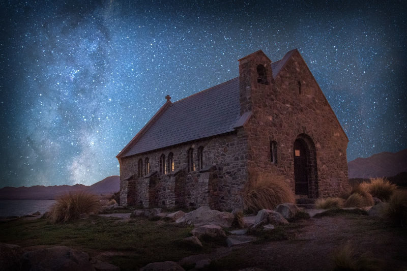 Lake Tekapo stargazing