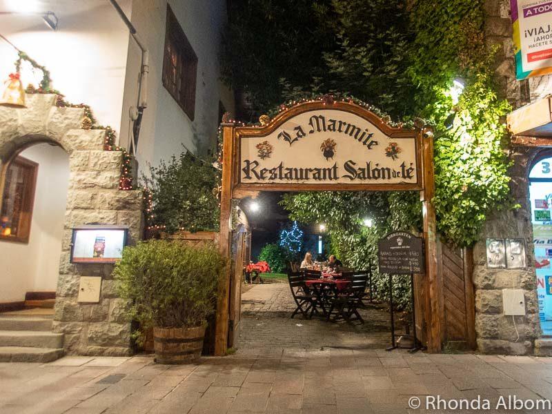 La Marmite Restaurant, San Carlos de Bariloche, Argentina