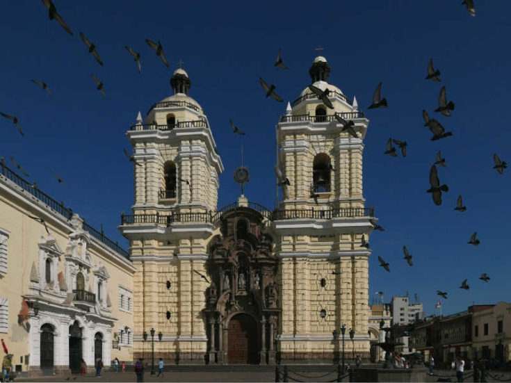 Basilica and Convent of San Francisco, Lima, Peru
