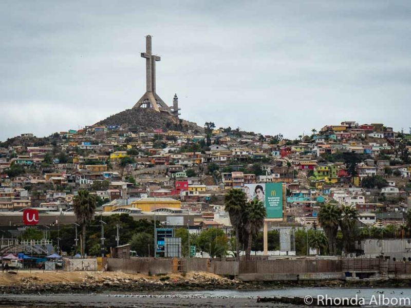 The Cross in Coquimbo Chile