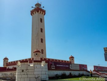 El Faro, the lighthouse, in La Serena Chile