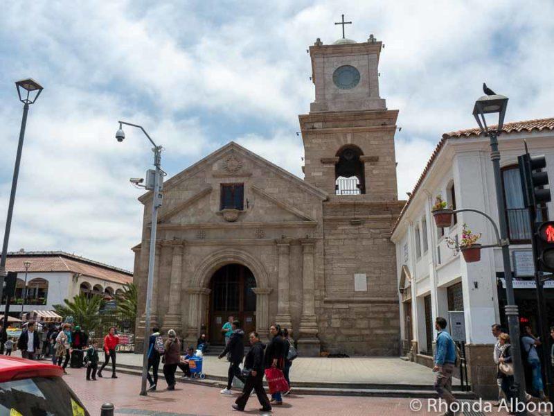 Iglesia San Agustin in La Serena Chile