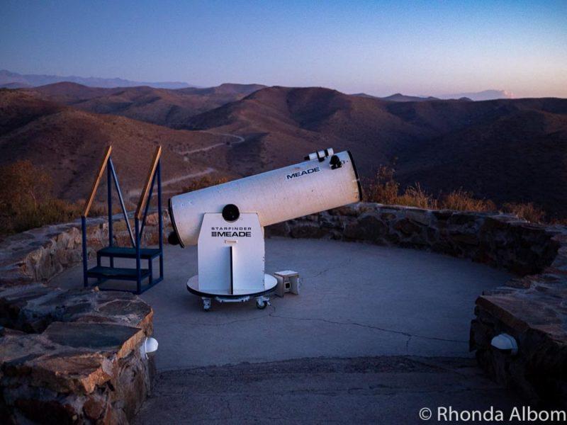 Telescope at Collwara