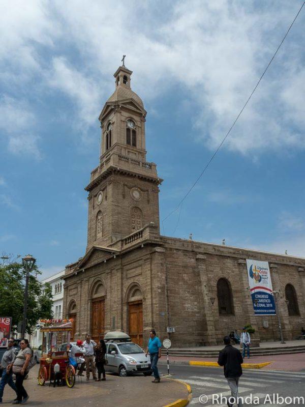 Cathedral in La Serena Chile