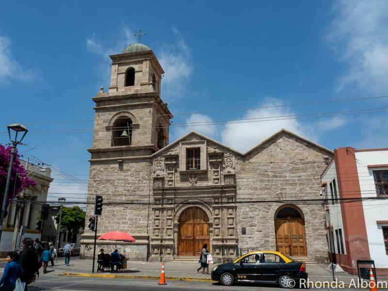 Iglesia San Francisco in La Serena Chile