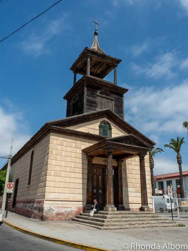 Iglesia San Juan de dios Peni in La Serena Chile