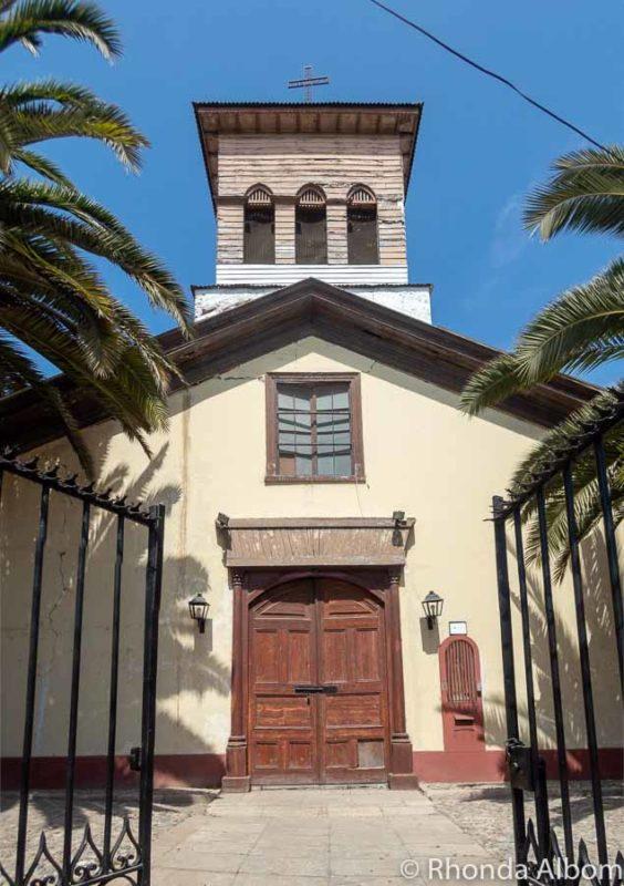 Iglesia el Transito in La Serena Chile