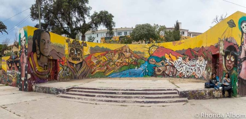 Looking for Street art is one of the many things to do in La Serena Chile