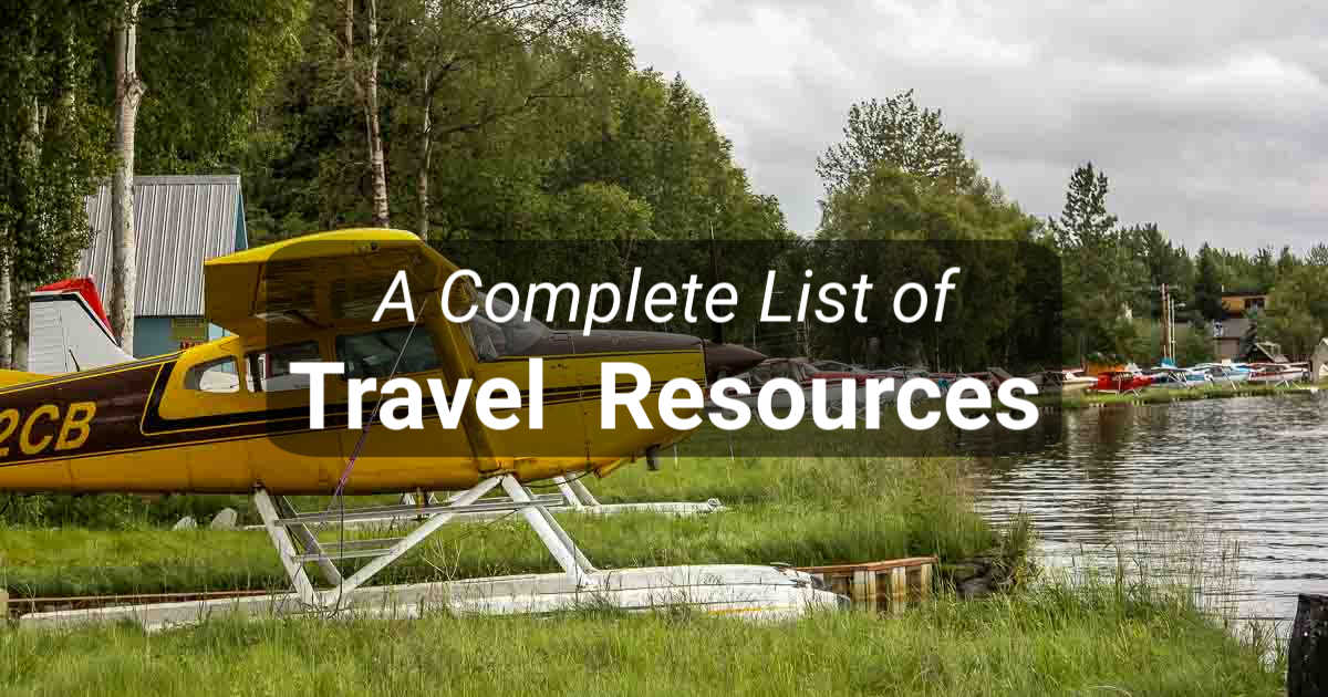 Travel Resources – Start Your Travel Planning Here