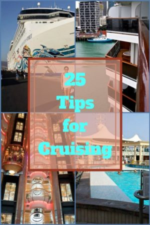 Tips for Cruising that will save you time and money
