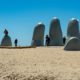 La Mano Sculpture on of the many things to do in Punta del Este Uruguay