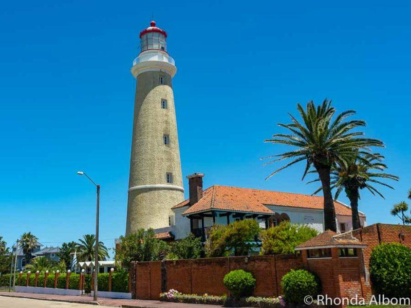 Lighthouse in Punta del Este Uruguay