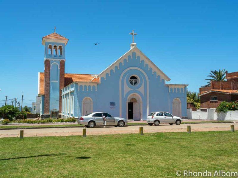 Catholic church of Punta del Este Uruguay
