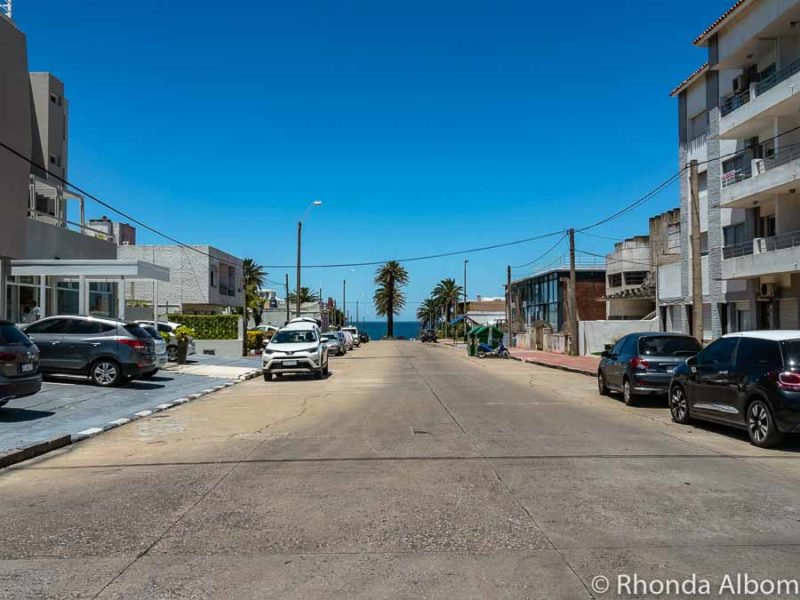Cuatro Mares - four seas corner in Punta del Este Uruguay