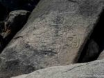 Alien looking petroglyphs in Chile