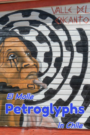 Street art at the entrance to Valle