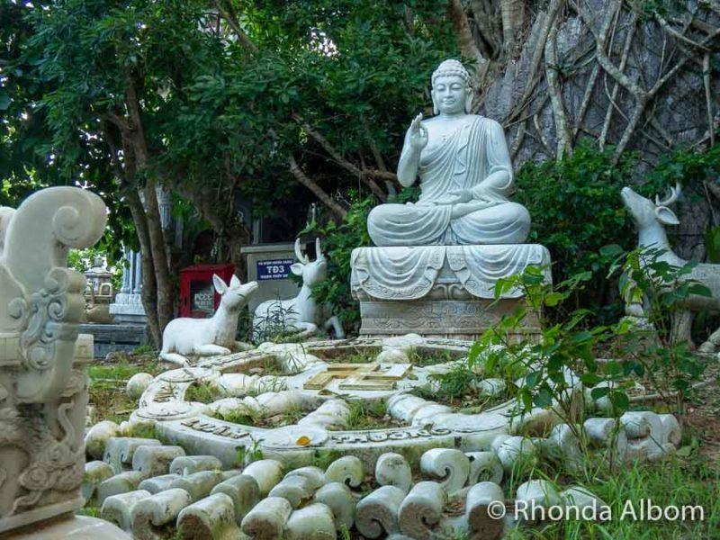 Marble buddha in Vietnam