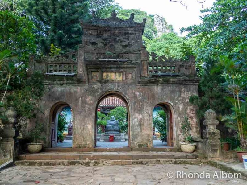 Ancient gate in Vietnam