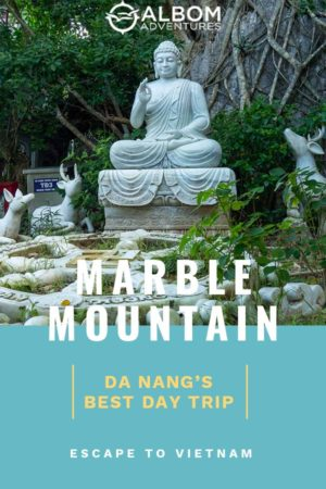 Da Nang Vietnam is known for many things, but our favourite is the Marble Mountains.