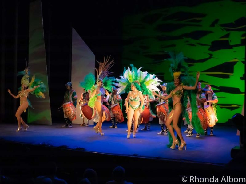Carnival in Uruguay show at Solis Theatre in Montevideo