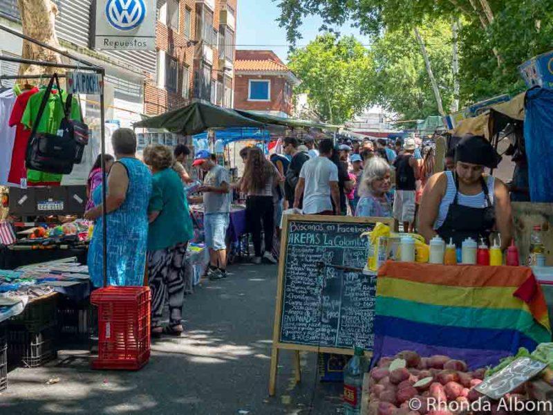 Montevideo flea market