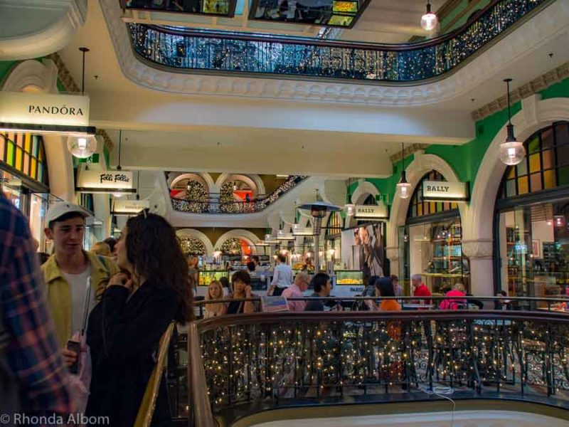 See how shoppping is one secrets benefits of cruising