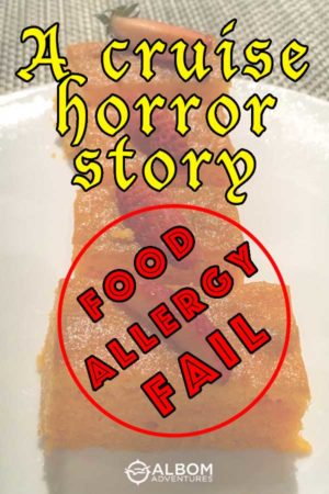 Cruise Horror Story - an Azamara Food Allergy Fail