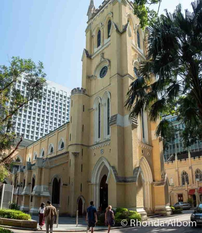 A visit to St John's Cathedral should be on your Hong Kong itinerary