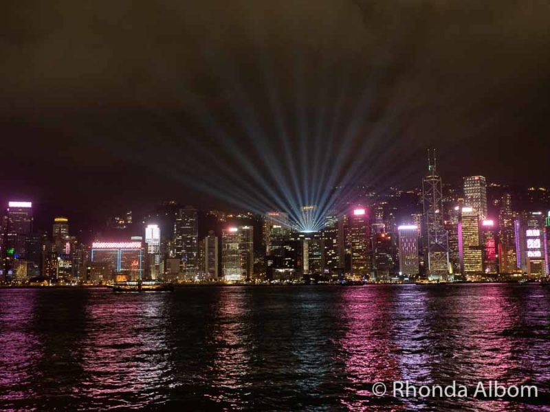 Symphony of Lights one of the top Hong Kong tourist attractions