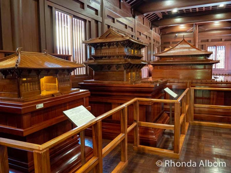Chinese Timber Architecture Gallery at Nan Lian Garden