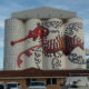 Wheat silo art in Albany Western Australia, part of the Public Silo Trail