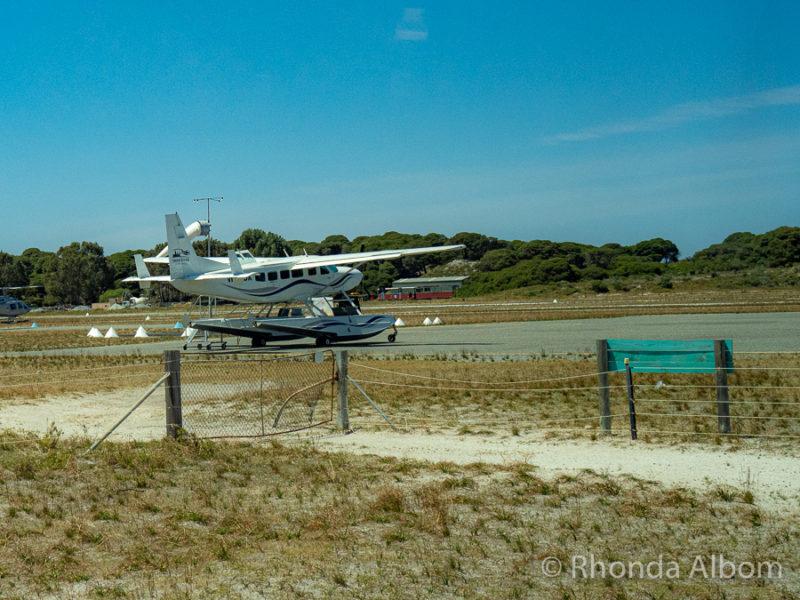 Airstrip on Rottnest Island, Western Australia