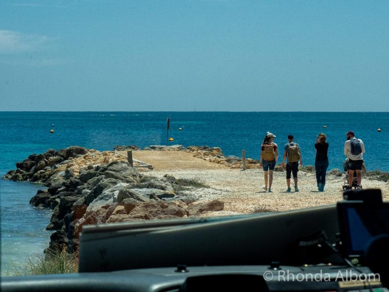 Emergency (army) jetty on Rottnest Island, Western Australia