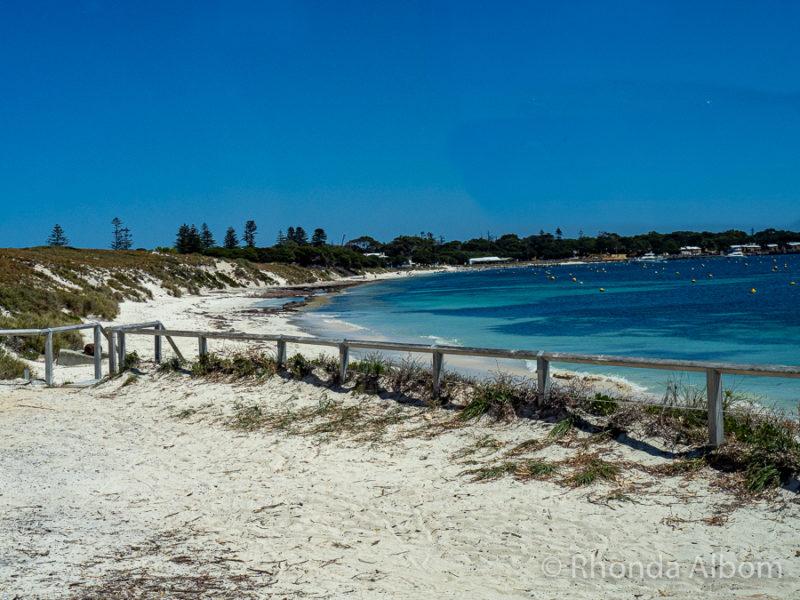 Thomson Bay on Rottnest Island, Western Australia