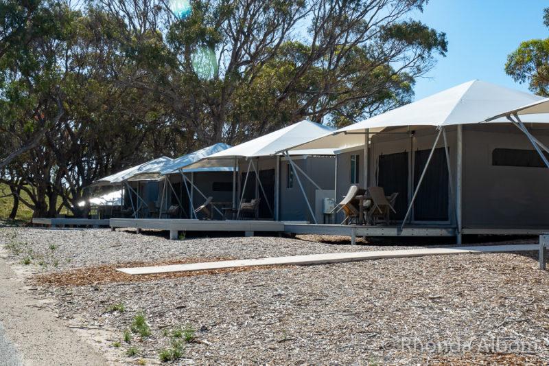 Discovery Rottnest Bay Eco resort at Pinky Beach on Rottnest Island, Western Australia