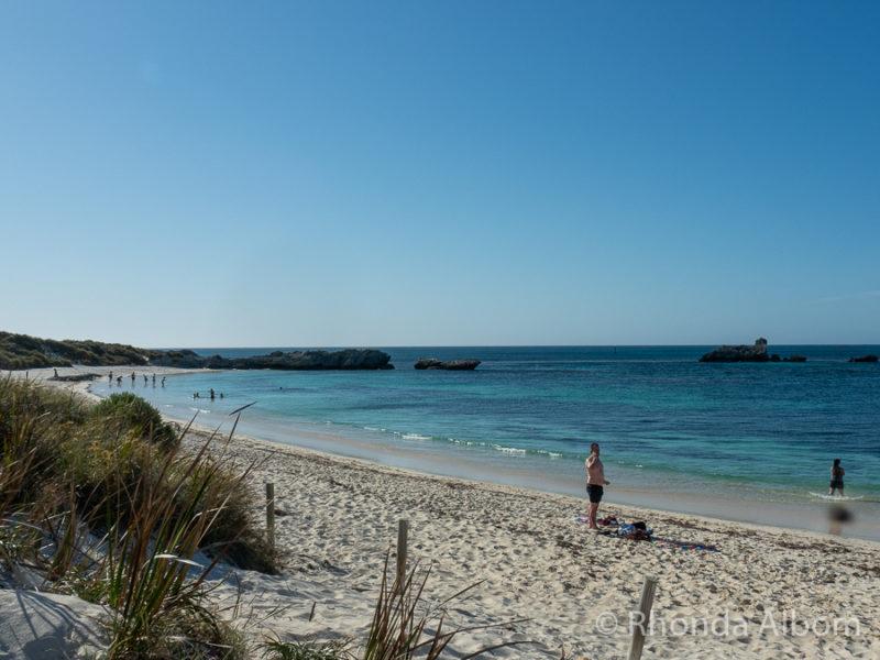 Pinky Beach on Rottnest Island, Western Australia