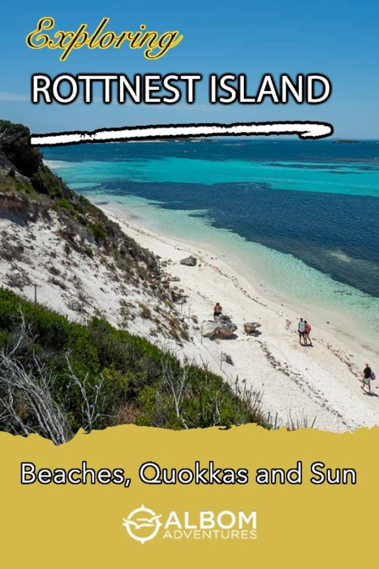 Rottnest Island is home to beautiful beaches, great cycling and hiking trails, and filled with quokkas - the happiest animal on earth.
